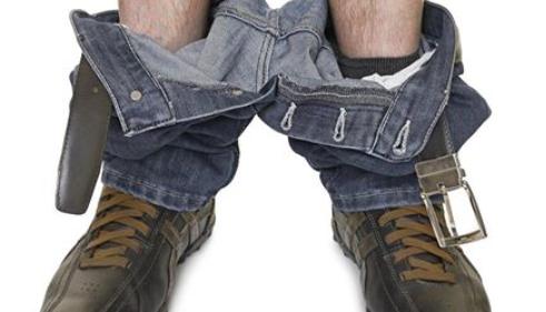 pantalon sur les chevilles